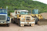 Badu Island Foundation trucks